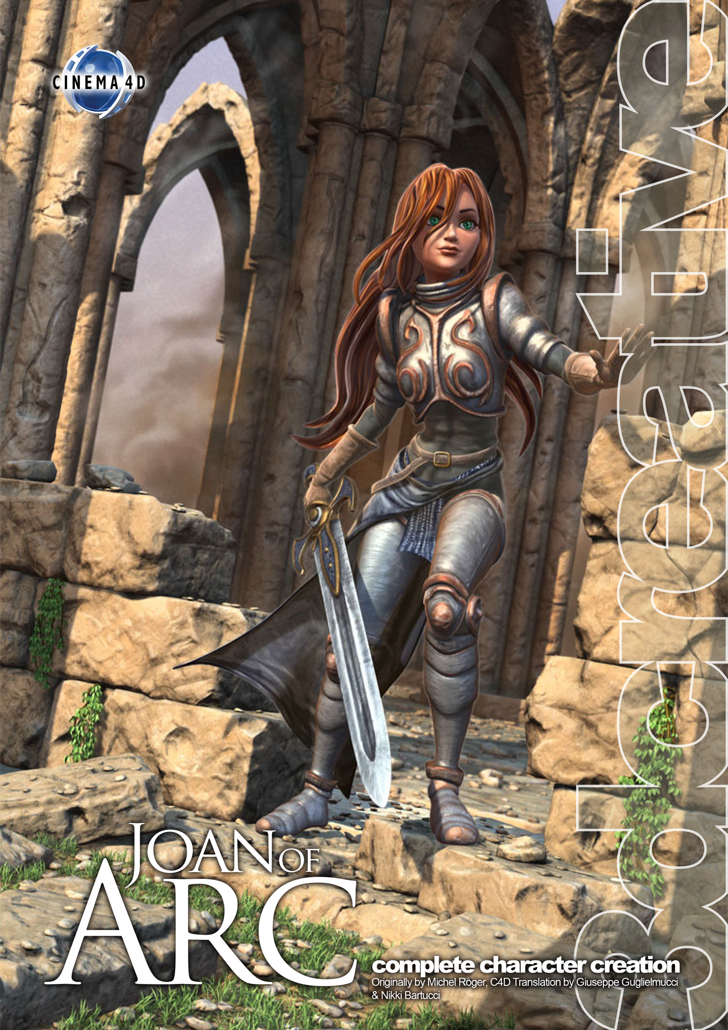 Joan of Arc - Cinema 4D (Download Only)