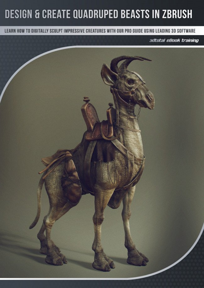 Design & create quadruped beasts in ZBrush (Download Only)