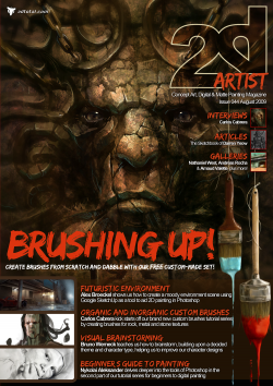 2DArtist: Issue 044 - August 2009 (Download Only)