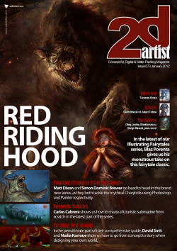 2DArtist: Issue 073 - January 2012 (Download Only)