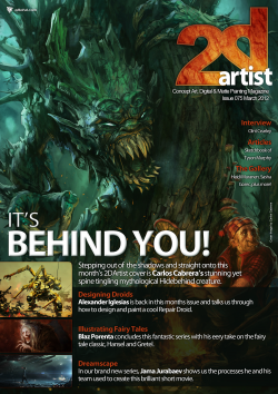 2DArtist: Issue 075 - March 2012 (Download Only)