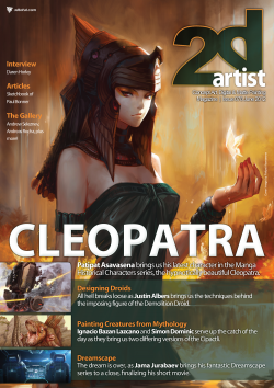 2DArtist: Issue 078 - June 2012 (Download Only)