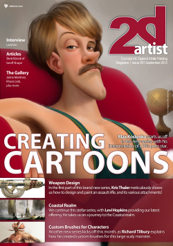 2DArtist: Issue 081 - September 2012 (Download Only)