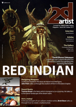 2DArtist: Issue 082 - October 2012 (Download Only)