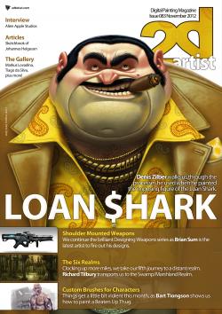 2DArtist: Issue 083 - November 2012 (Download Only)