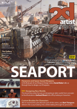 2DArtist: Issue 085 - January 2013 (Download Only)