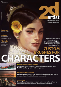 2DArtist: Issue 086 - February 2013 (Download Only)