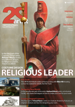 2DArtist: Issue 089 - May 2013 (Download Only)