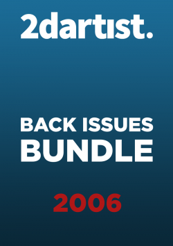 2DArtist Back Issues - 2006 (Download Only)