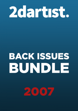 2DArtist Back Issues - 2007 (Download Only)