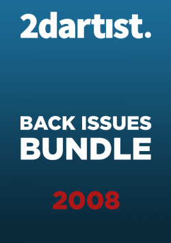 2DArtist Back Issues - 2008 (Download Only)