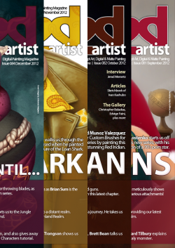 2DArtist Back Issues - 2012