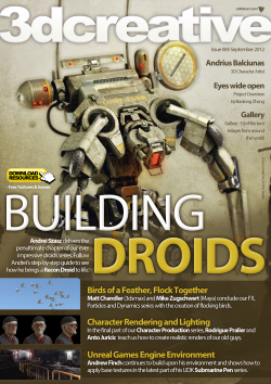 3DCreative: Issue 085 - Sep2012 (Download Only)
