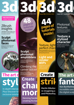 3DCreative Back Issues - 2013 (Download Only)
