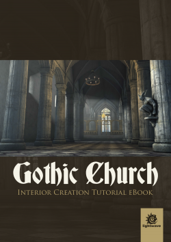 Gothic Church Interior Creation - LightWave (Download Only)
