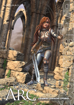 Joan of Arc - Softimage XSI (Download Only)