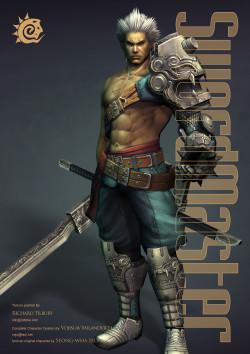 Swordmaster - LightWave (Download Only)