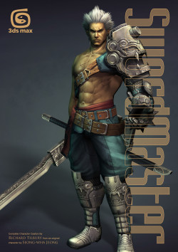 Swordmaster - 3ds Max (Download Only)