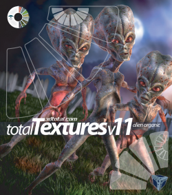 "Total Textures V11:R2 - ""Alien Organic"" (Download Only)"