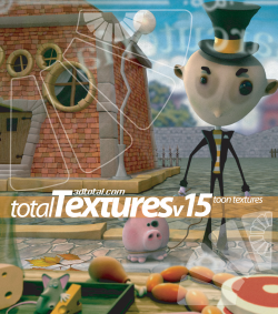 "Total Textures V15:R2 - ""Toon Textures"" (Download Only)"