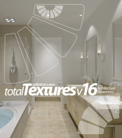 "Total Textures V16 - ""Architectural Showroom"" (Download Only)"