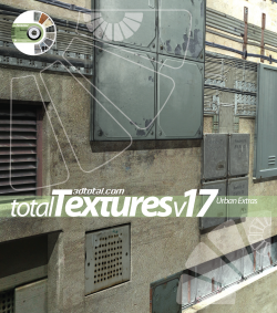 "Total Textures V17 - ""Urban Extras Textures"" (Download Only)"