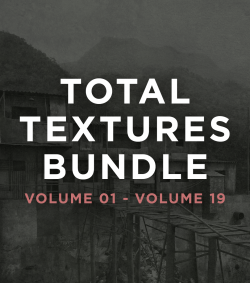 Total Textures 19-pack Download Bundle - 50% Off (Download Only)