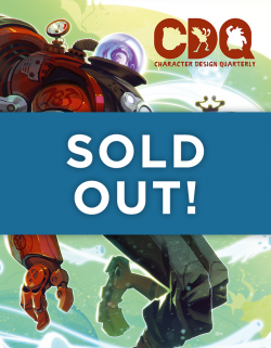 Character Design Quarterly issue 01 - SOLD OUT!