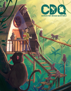 Character Design Quarterly issue 14