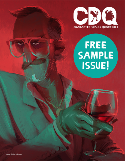 Character Design Quarterly - Sample Issue (Download Only)