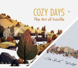 Cozy Days: The Art of Iraville - with signed bookplate
