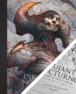 Dibujante Nocturno: The Art of Fran Garcés - with signed bookplate