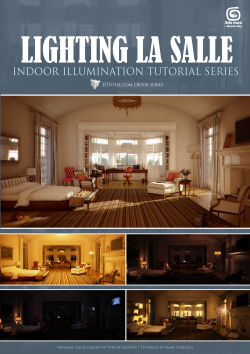 Lighting La Salle 3DSMax + Mental Ray (Download Only)