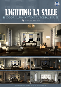 Lighting La Salle Cinema4D (Download Only)