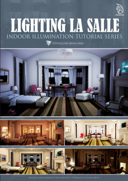 Lighting La Salle Maya Mental Ray (Download Only)