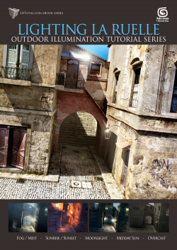 Lighting La Ruelle - 3ds Max + mental ray (Download Only)