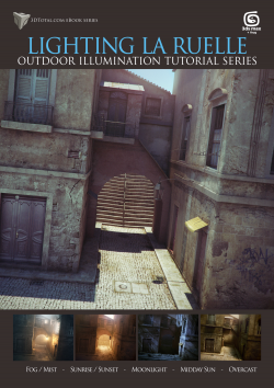 Lighting La Ruelle - 3ds Max + V-Ray (Download Only)