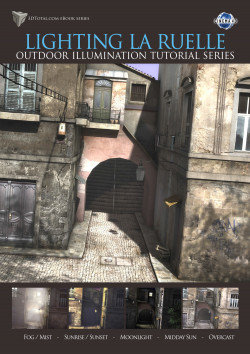 Lighting La Ruelle - Cinema 4D (Download Only)