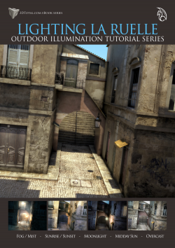 Lighting La Ruelle - Maya + mental ray (Download Only)