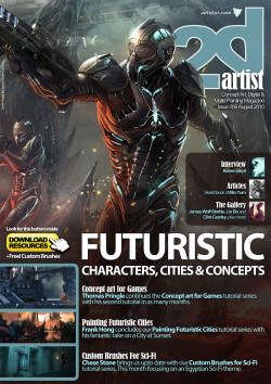 2DArtist: Issue 056 - August 2010 (Download Only)