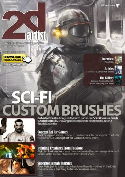 2DArtist: Issue 058 - October 2010 (Download Only)