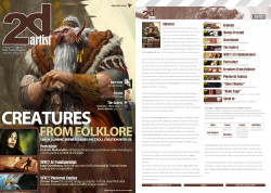 2DArtist: Issue 061 - January 2011 (Download Only)