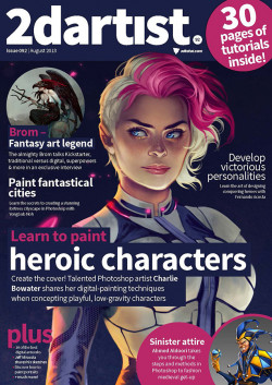 2DArtist: Issue 092 - August 2013 (Download Only)