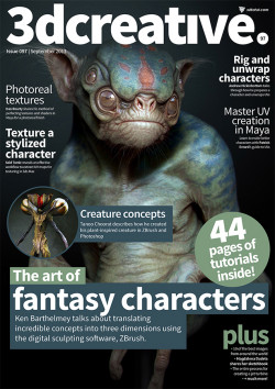 3DCreative: Issue 097 - September 2013 (Download Only)