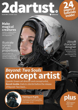 2DArtist: Issue 094 - October 2013 (Download Only)