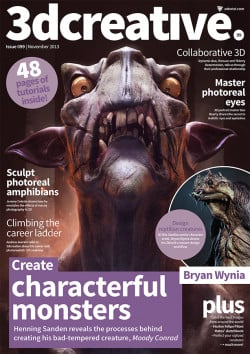 3DCreative: Issue 099 - November 2013 (Download Only)