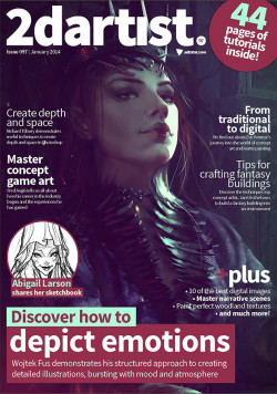 2DArtist: Issue 097 - January 2014 (Download Only)