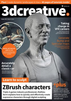 3DCreative: Issue 103 - March 2014 (Download Only)