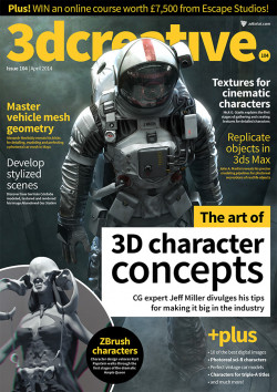 3DCreative: Issue 104 - April 2014 (Download Only)