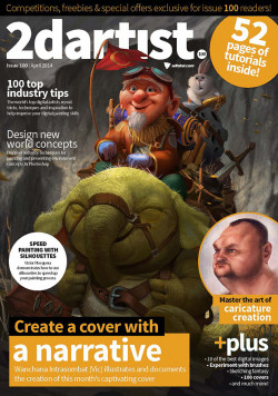 2DArtist: Issue 100 - April 2014 (Download Only)